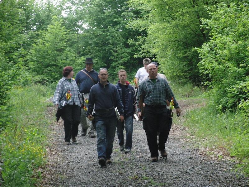 Bogenschützen unterwegs